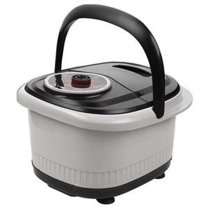 다기능 완전 자동 전기 롤러 다리 분지 난방 발 욕조 발 마사지 기계 발 스파 목욕 마사지 새로운