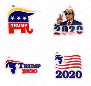 Donald Trump Etiqueta 2020 presidente americano US Eleição Trump Paster Hot Sale Trump adesivas For Kids presente Brinquedos D52217 Atacado