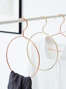 Скандинавских золото из нержавеющей стали кольцо галстук стойки пояса кадр шелковый шарф стойку полотенце металла вешалка кольцо стойки (5шт)