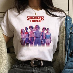 Stranger Things stagione 3 T Shirt Donne Capovolto maglietta Undici femmina grafico grunge Tshirt femme tee-shirt divertenti