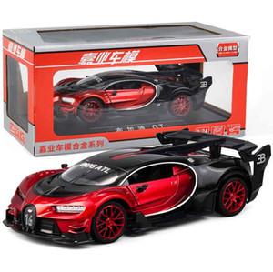 T200110 1/24 Diecasts Toy Vehicles Bugatti Car GT Continental Modelo Car Collection Brinquedos Para Boy presente das crianças Brinquedos