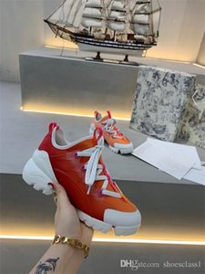 New Orange Arena Triple S Trainer Low-top Make Old Sneaker Trendy Footwear Boots Mens Womens Lace Up Shoes xr200424