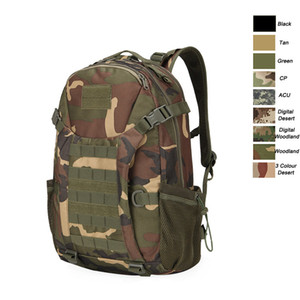 Outdoor Sports Waterproof Tactical Pack Bag  Rucksack   Knapsack   Assault Combat Camouflage Tactical Camo Molle 30L Backpack P11-031