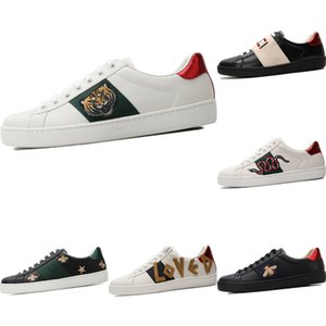 With Box 2020 Ace Embroidered Bee Low Cut Athletic Shoe Original Ace Bee Embroidered Buffer Rubber Built-in Zoom Air Skateboard Shoes
