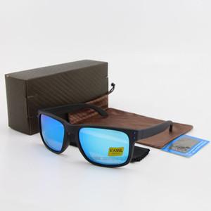 Promotion Preis HOT SALE Vassl TR90 Blau polarisierte Spiegel-Sonnenbrille Männer Frauen Sport Radsportbrille Brillen Mehr Farbe Rahmen