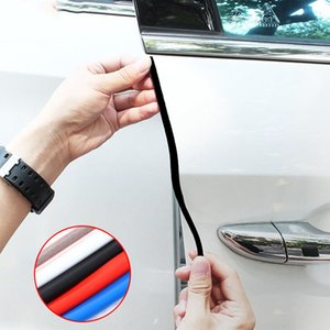 Adhesives & Sealants 5M Set Car Door Edge Rubber Scratch Protector Anti Collision Scratch Protection Car Door Rubber Sealing Strips Sticker