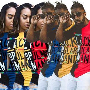 Mujeres Pullover verano amantes de la manera del regalo del día de San Valentín 2020 Moda 30ºN UU señora impresión de la letra T Shirt