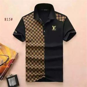 New 2018 Wholesale clothing Männer G T-Shirts Vollbild Tiger Druck Hip Hop Kleidung Herren Designer Shirts plus Größe blau Khaki 815