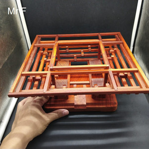 Moritise And Tenon Joint Wooden Model Redwood Puzzle Building Structure Learning Toy Education Game