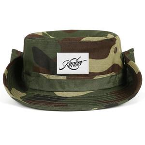 Fashionable Kimber Logos Neutral Foldable Fisherman Hat Design Classic Cowboy cap Kimber-logo-metal logo