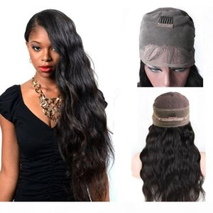 Brazilian Body Wave 360 Lace Frontal Wigs With Baby Hair Pre Plucked Brazilian 360 Lace Frontal Human Hair Wigs for Black Women