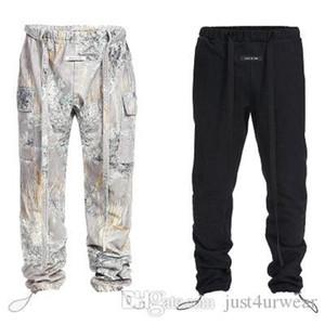 Mens Fashion Brand Cargo Pants Casual Hip Hop Sport Full Length Drawstring Straight Pants Male Fashion Clothing