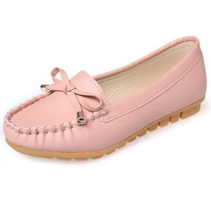 Мода Женщина Квартиры Открытый обувь Отдых Бабочка нароста Женская Обувь Комфортные Квартиры Обувь Zapatos Mujer x233