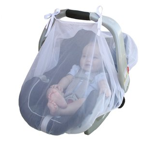 4colors Baby Carriage Bug Insect Netting Infant Car Seats Cover Cradles Carriers Car Seats Kids Mosquito Net 80*110cm