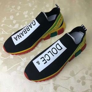 2020 A9 новая тенденция трикотажные сетки ткань партии повседневная обувь открытый мужчины и женщины кроссовки мода дикая пара обувь, размер 35-46 с коробкой