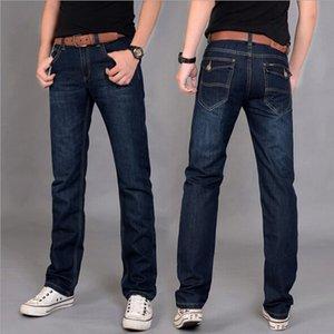 2020 Hot New Designer Korea Men's Jeans Slim Fit Classic denim Jeans Trousers Straight Leg Blue Size 30~34 Button Wholesale 12