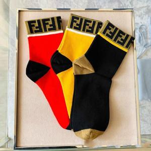 Kinder Junge Mädchen Socken für Baby-Cotton Soft Kinder Socken losen bequemes Kleinkind Schwarz, rot, gelb 3 pairls / lot Socken