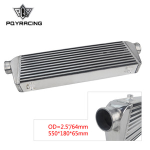 PQY - 550*180*65mm Universal Turbo Intercooler bar&plate OD=2.5