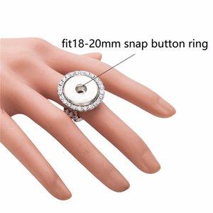 VOCHENG NOOSA Snap Charms Ring 진저 스냅 쥬얼리 교환 가능 18mm 버튼
