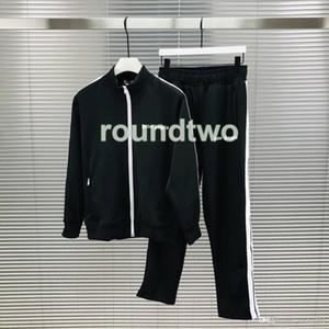 2020 Muchos Colores para hombre del chándal Sudaderas hombres trajes de pista de lujo sudor chaqueta para hombre de la chaqueta con capucha de Palm sudadera deportiva Pantalones
