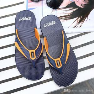 NEW Designer Slipper summer Men flats sandals Cork slippers casual shoes print mixed colors flip flop outdoor beach Sandals Wading shoe