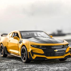 Nuevos 1:32 Chevrolet Camaro aleación modelo de coche de juguete Funde automóviles de juguete regalos de los coches Envío gratuito Kid juguetes para niños Boy Toy J190525