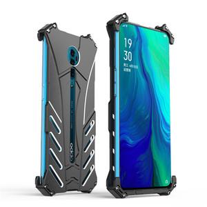 R-JUST Etui Protect Phone pour OPPO Reno Métal Aluminium antichocs Dropproof Couverture Armure antidétonants cas pour Reno 10x Zoom