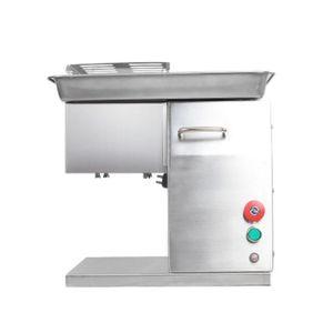 Edelstahl Fleisch Slicer 400 kg / h Desktop-Slicer frischen Fleisch Slicer Lebensmittelverarbeitung Fleischschneidemaschine