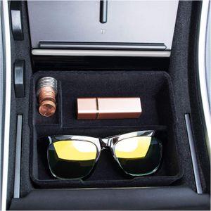 Организатор Tesla 3 (2017 2018 2019) Custom Associate Centre Consoge Console The Flocked Consoge Console, совместимый с Tesla Model 3 (2017 2018 2019) Аксессуар