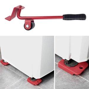 Objet lourd mouvement Outil pratique Meubles Shifter Shifter cinq pièces Mover objet mobile Outil Mover Ménage Set main
