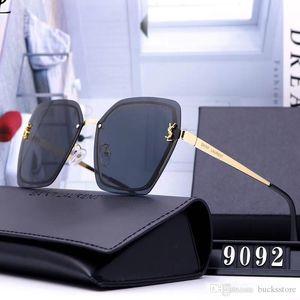 Big Frame Sunglasses For Mens Womens Popular Sunglass Lentes Eyewear Men Woman Outdoor Sun Glasses Avant-garde Gafas de sol