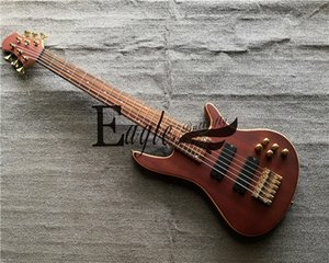 Eagle. Butterfly electric guitar, electric bass Custom Shop Six-String Active Pickup Metal Rock Electric Bass in Stock