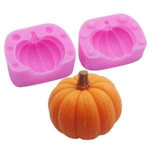 3D Kabak Silikon Kalıp - Candy, Pişirme, Kek Dekorasyon, Sabun Yapımı, Çikolata, Mum, Clay için Cadılar Bayramı MoldFun Mini Kabak Kalıp