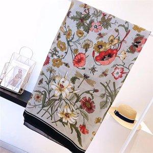 99554High qualité des designers de luxe haut de gamme mode foulard en soie dame printemps et en été nouveau imprimé foulard 2020 vente chaude
