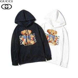 Designer Hoodie für Männer Frauen 2019 Marke Solid Color Brief gedruckt Bär Stickerei Hoodies der Männer Luxus Sweatshirts Frauen Hot Sale Tops