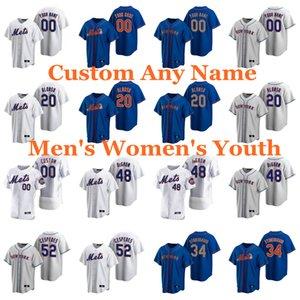 Baseball Jerseys Brad Brach Jersey Edwin Diaz jeurys familia Stephen Gonsalves Robert Gsellman Humphreys Franklyn Kilome personalizado costurado