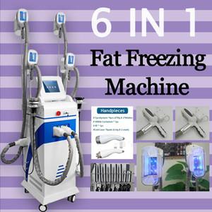 2020 новый Многофункциональное 4 Cryo потеря веса головки Жир Замораживание машина холодная вакуумная терапия Криотерапия для похудения