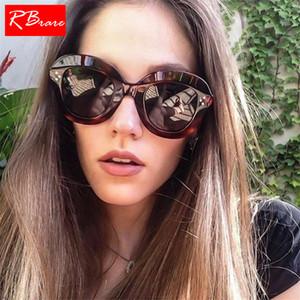 Occhiali da sole con chiodo in metallo RBRARE 2019 per donna, occhiali da sole da donna di design classico, occhiali da sole vintage UV400 Lunette De Soleil Femme