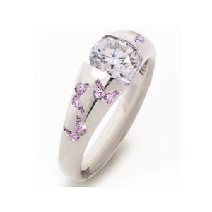 New Fashion Creative Butterfly Wedding Rings for Women engagement Multicolor Zircon Glamour Ring Jewelry Gift Bijoux