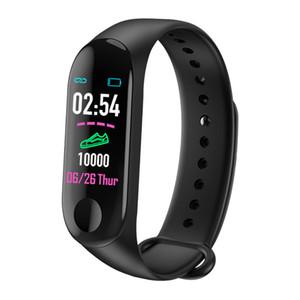 M3 Intelligence Health Bracte Braclet Smart Band Band Repeate Watch Active Fitness Tracker Pulseira Relógios Reloj Inteligente Watch Watch DHL Bristband