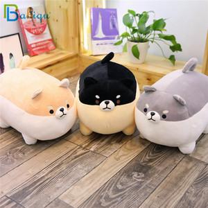 Babiqu 1pc 40/50 centímetros de gordura Shiba Inu Dog Plush Toy Stuffed bonito Corgi animal cão Chai macia Sofa Pillow belo presente para as crianças Crianças Y200111