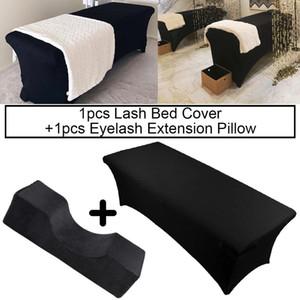 탄성 시트 래쉬 침대 커버 특별 신축 속눈썹 베개 곡선 목 래쉬 베개 전문 이식 속눈썹 만들기