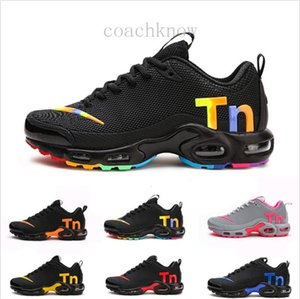 2019 Newest Men Zapatillas TN Designers Sneakers Chaussures Homme Men Basketball Shoes Mens Mercurial TN Running Shoes Eur40-46 K56L