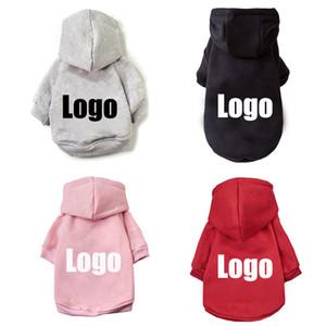 개 프랑스 불독 애완 동물 의류 작은 강아지 치와와 Costum 옷을 위해 패션 코튼 후드 티 브랜드 개 의류 겨울 따뜻한 코트
