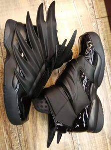 2020 роскошный дизайнер Jeremy x Original Wings 3.0 тройные черные кроссовки женская мужская мода Повседневная обувь винтажная личность обувь для мальчиков и девочек