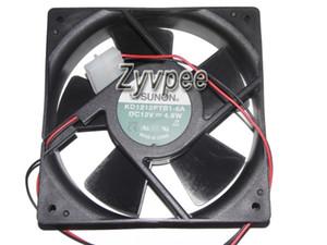 SUNON 120x120x38mm 12V 12cm KD1212PTB1-6A 4.8W 2Wire Power Case Fan KD1212PMBX-6A 7.6W dc fan