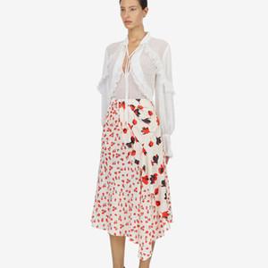 2019 Estilos corte de Nueva Spring Street manera de las mujeres ropa de alta calidad del partido Mujer Asimetría común partido de la falda E316