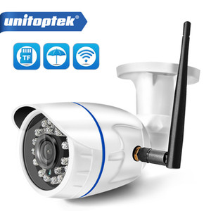 HD 1080P sans fil IP caméra WIFI extérieur ONVIF CCTV Video Home Sécurité Caméra Bullet fente pour carte TF Night Vision APP CAMHI