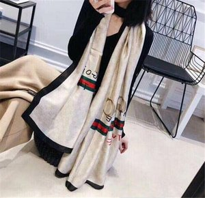 Sciarpe di modo per le donne della stampa Sciarpa di seta femminile 180x90cm lungo Scialle Bandana per la grande testa di Hijab Sciarpe per le signore