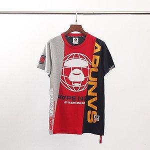 2020 fashion Men Women Luxury Shirts Summer Mens casual Designered T-shirt Short Sleeve Top Tees Hip Hop Mens Clothing q24